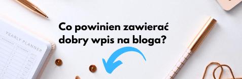 Grafika znapisem: Co powinien zawierać wpis blogowy